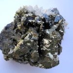 Pyrite, sfalerite, quartz